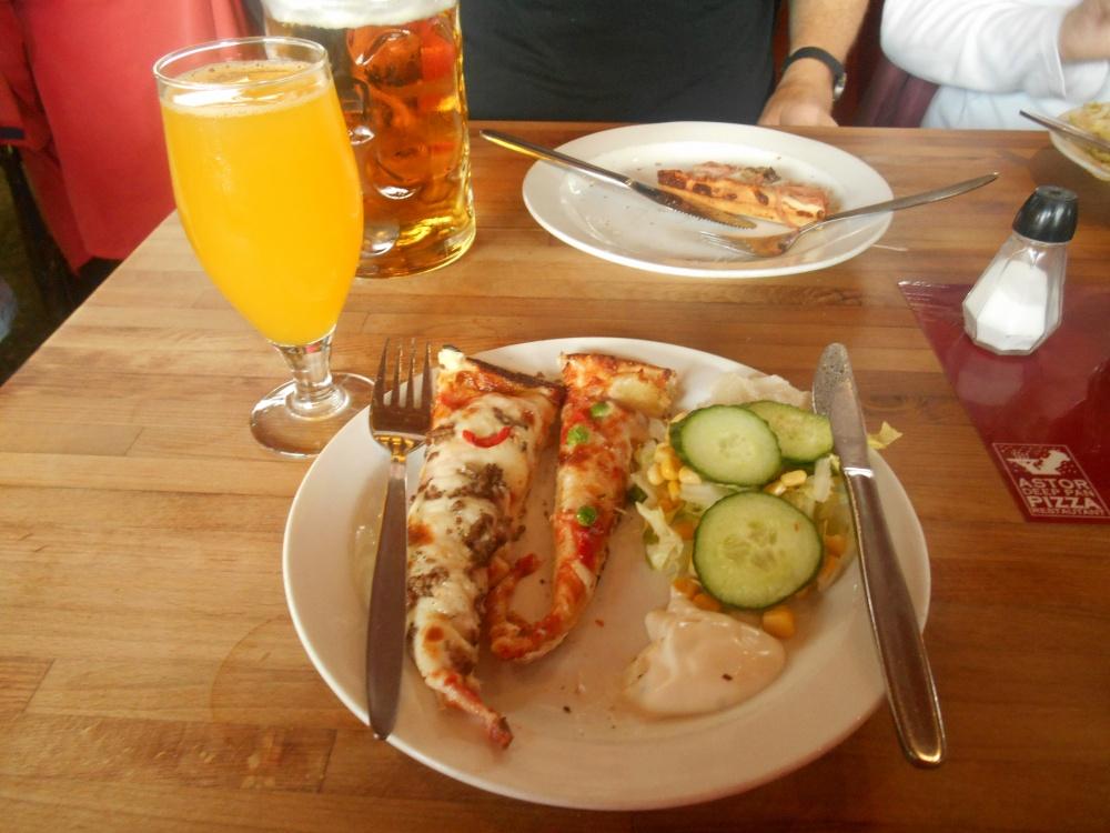 Pizzabuffet på Astor i København