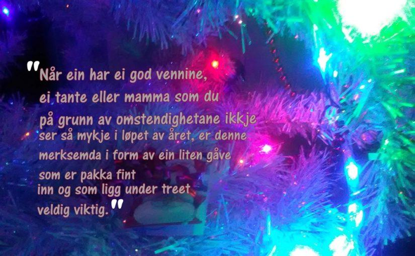 Det julå dreie sæg om..